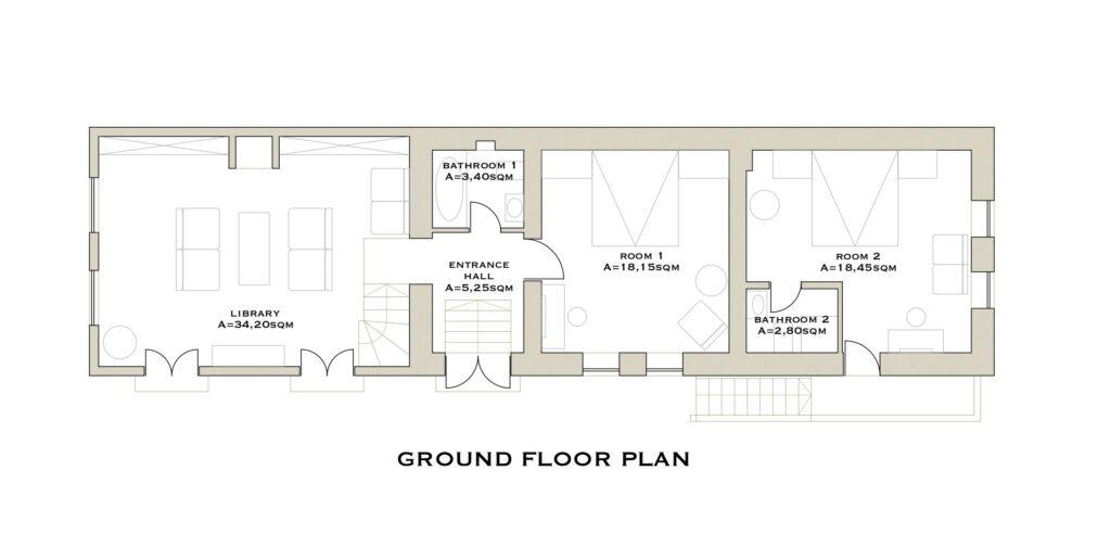Depner House plan
